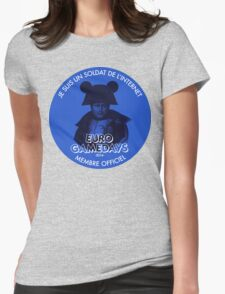 Euro Gamedays 2014 - Blue Womens Fitted T-Shirt