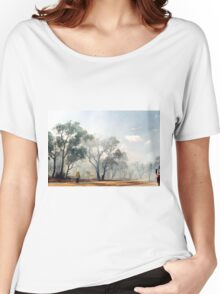 Fire, Perth, Western Australia Women's Relaxed Fit T-Shirt