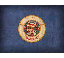 Minnesota State Flag Photographic Print