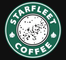 Starfleet Coffee Next Gen Blend Kids Tee