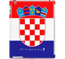 Croatia iPad Case/Skin