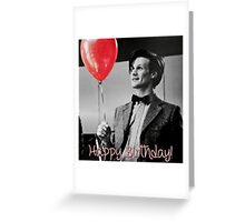 Matt smith Happy Birthday! Card Greeting Card