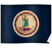 Virginia State Flag Poster