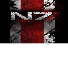 N7 bloodied by kaidanshepard