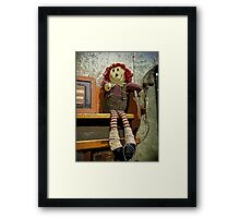 Raggedy Doll Framed Print
