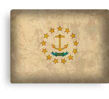 Rhode Island State Flag Canvas Print