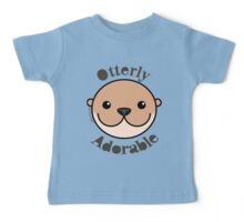 Otterly Adorable - Otter Face Baby Tee