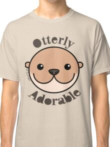 Otterly Adorable - Otter Face Classic T-Shirt