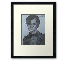 Matt Smith,The 11th Doctor Framed Print