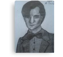Matt Smith,The 11th Doctor Canvas Print
