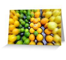Citrus Medley Greeting Card