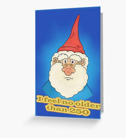 I feel no older than 250 Greeting Card
