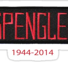 RIP Harold Ramis Egon Spengler GB2 Ghostbusters  1944-2014 Sticker