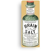 Brain Salt Canvas Print
