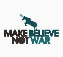 Make believe not war Kids Tee