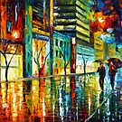 NIGHT JERUSALEM by Leonid  Afremov