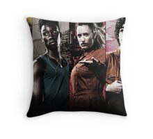 Misfits Characters Throw Pillow