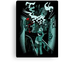 Letter to Mr Caligari Canvas Print