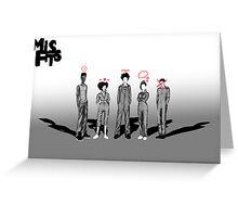 Misfits Powers Greeting Card