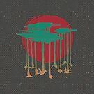 Flock Of Rain by Roesbery