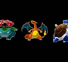 Neon Pokemon by Colin Donegan