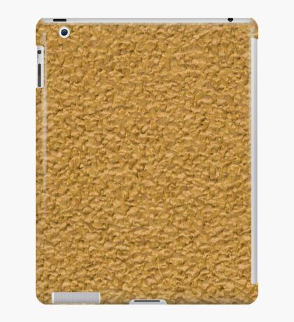 Golden vinyl texture iPad Case/Skin