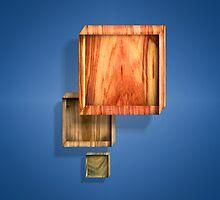 Shallow Boxes Three by YoPedro