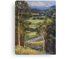 View of Rollands Plains Canvas Print