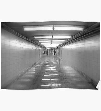 Toronto Subway Tunnel Poster