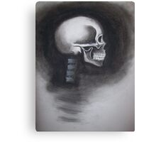 Skull Side View Canvas Print