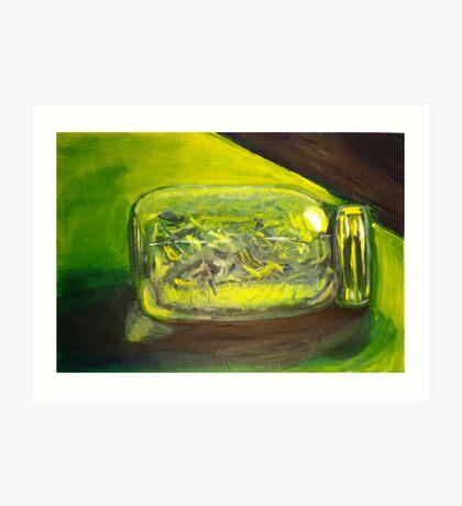 Green Jar Art Print