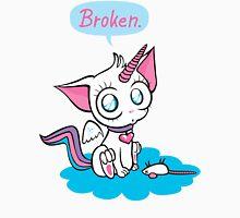 broken – unicorn kitty Unisex T-Shirt