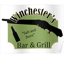 Winchester's Bar and Grill Poster
