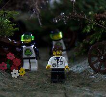 Mr Lego men  by Roberto Pellegrini