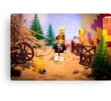 Mr Lego Canvas Print