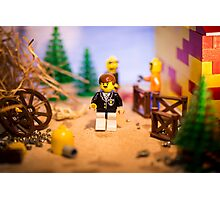Mr Lego Photographic Print