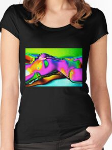 Just Gelling 4 Women's Fitted Scoop T-Shirt