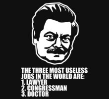 Ron Swanson Quote 6 by HarrisonSteele