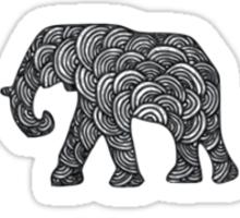 Elephant Troop Sticker