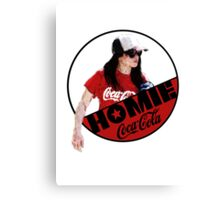 Homies Cola  Canvas Print