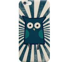 Retro Owl iPhone Case/Skin
