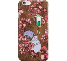 Self-Conscious Squirrel iPhone Case/Skin