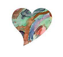 Artistic Heart Photographic Print