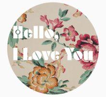Hello, I Love you by SasquatchBear