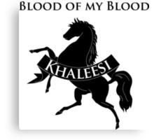 Game of Thrones Fan Shirt - Khaleesi Canvas Print