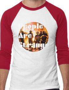 People are strange Men's Baseball ¾ T-Shirt