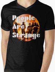 People are strange Mens V-Neck T-Shirt
