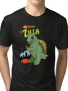Gamie Zilla Tri-blend T-Shirt