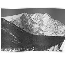 Colorado Ypsilon Mountain Rocky Mountain National Park  Poster
