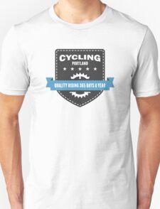 Cycling 365 Days a Year Unisex T-Shirt